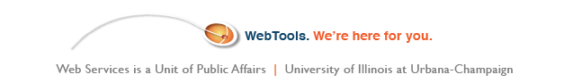 WebTools.  We're here for you.